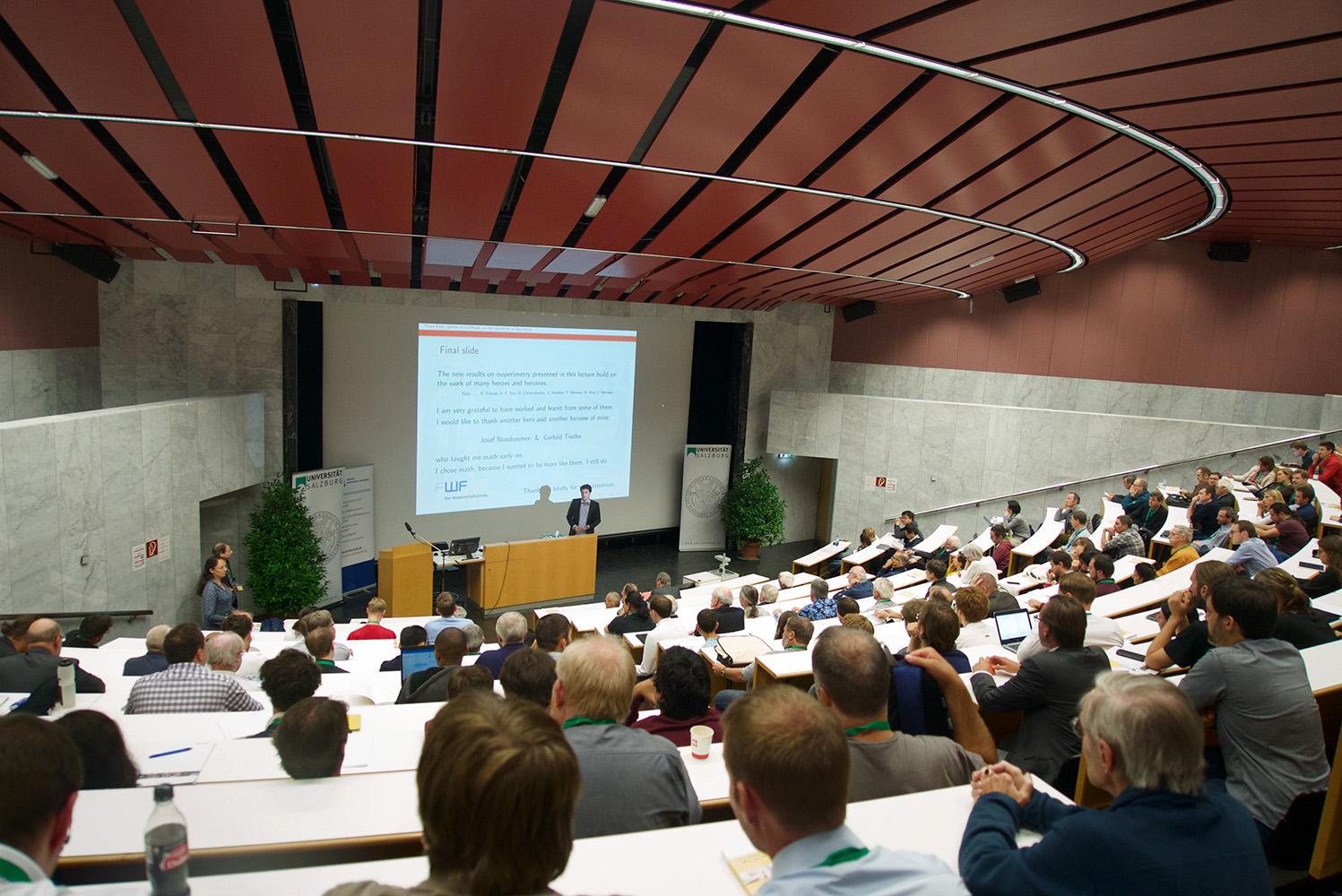 Plenarvortrag von Prof. Dr. Michael Eichmair