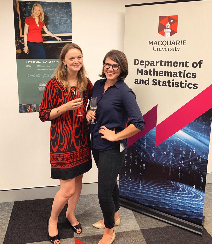 Dr Sophie Calabretto & Dr Karen Lamb